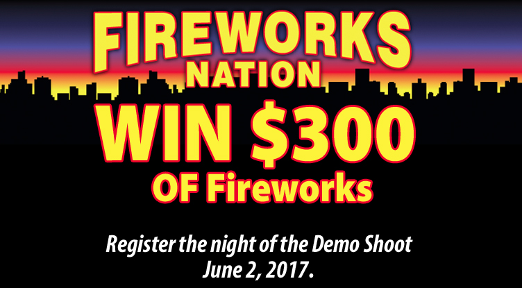 Fireworks Nation win $300